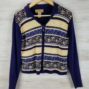 Telluride Clothing Co Vintage Zip Sweater